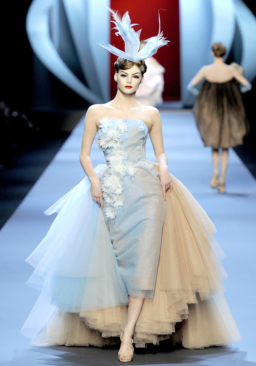 The haute couture as experimental field for The haute couture