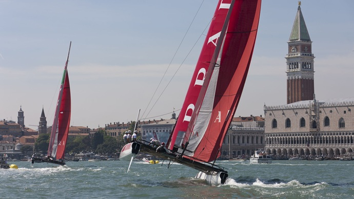The America's Cup Club Lounges at the BAUERs