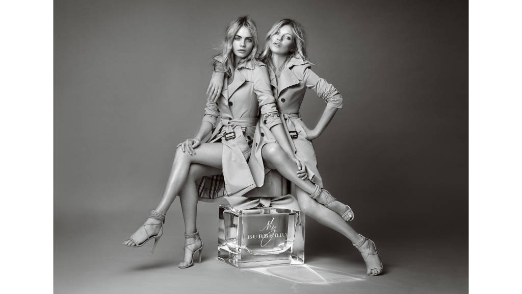Beauty ads Burberry