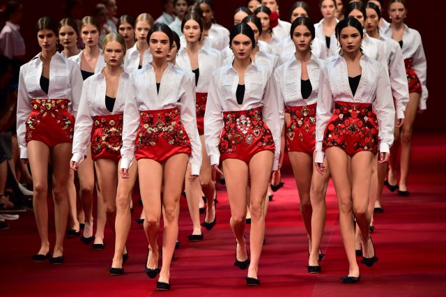 Dolce and Gabbana Spring Summer 2015