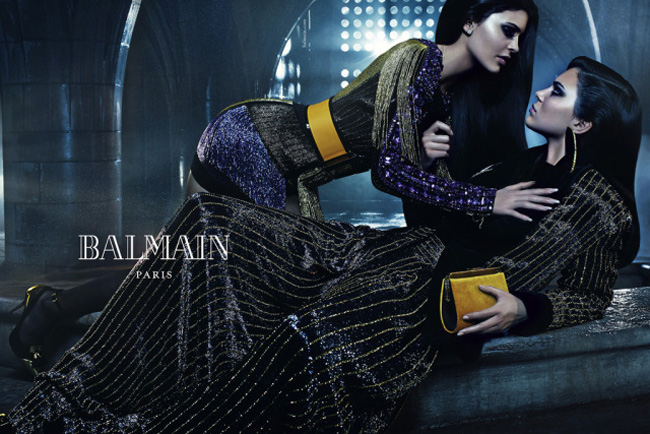 Balmain Fashion Fall Winter Campaigns 2015 Luxury Brand Ambassadors MosnarCommunications