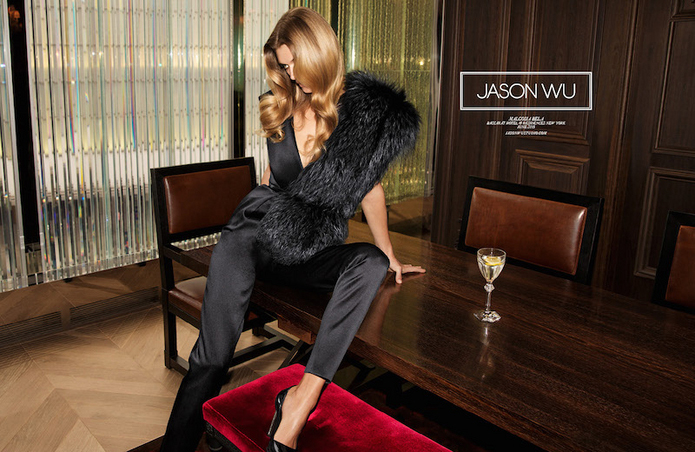 Jason Wu Fashion Fall Winter Campaigns 2015 Luxury Brand Ambassadors MosnarCommunications