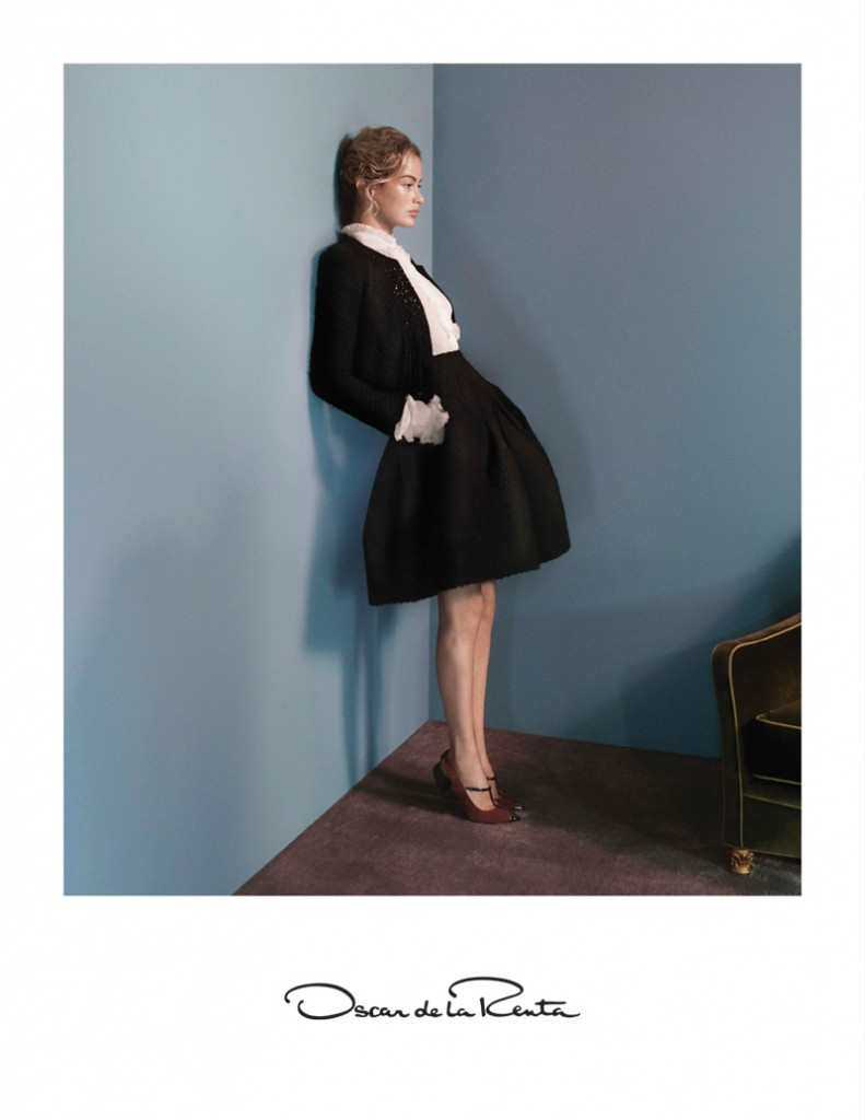 Oscar de la Renta Fashion Fall Winter Campaigns 2015 Luxury Brand Ambassadors MosnarCommunications