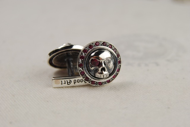 Jewelry Designer of the Day New Luxury RocknRoll Cuff Links by