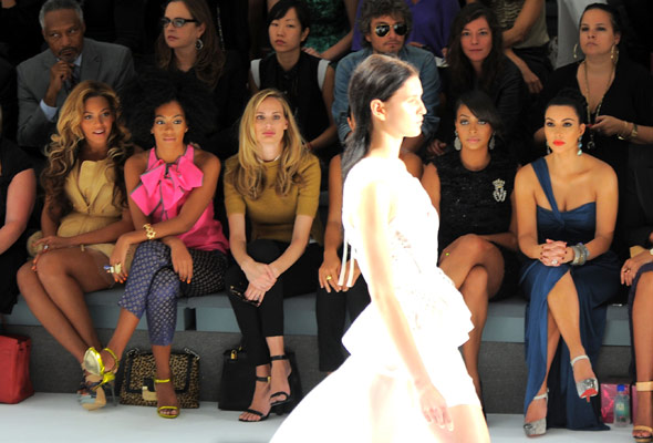 fashion show front row archives luxury brand pr style