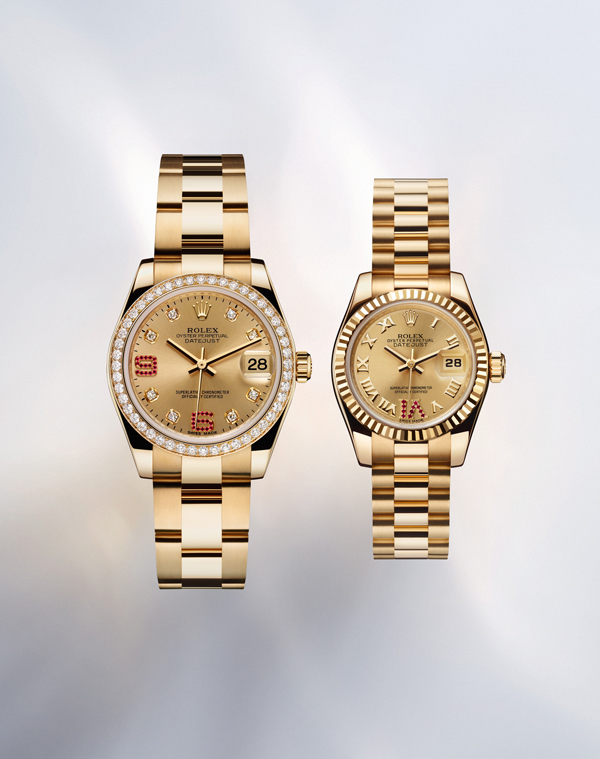 Watch Mom In Bedroom Camera: In Fashion ROLEX Datejust Luxury Watch Collection For Mom