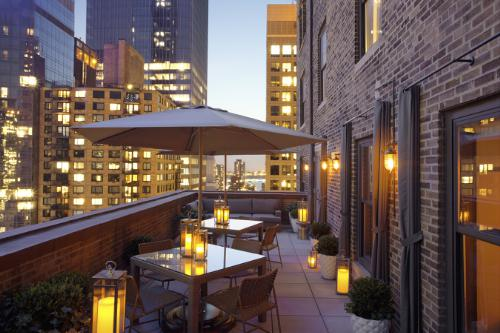 WestHouse Hotel New York Outdoor Terrace