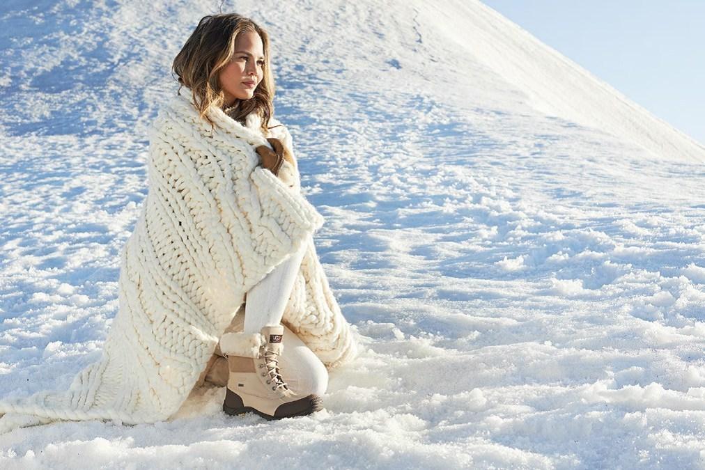 UGG Australia Chrissy Teigen Winter Campaign