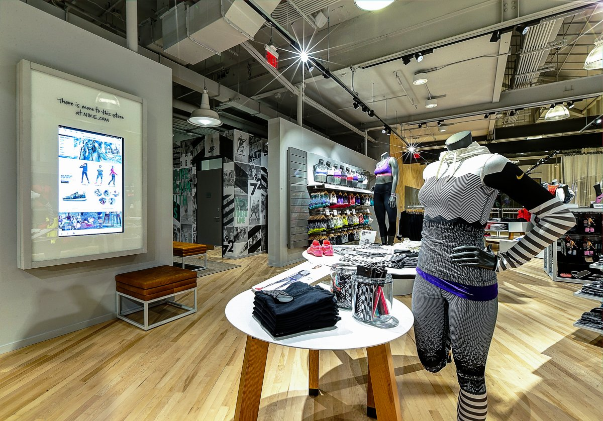 In store brand experience