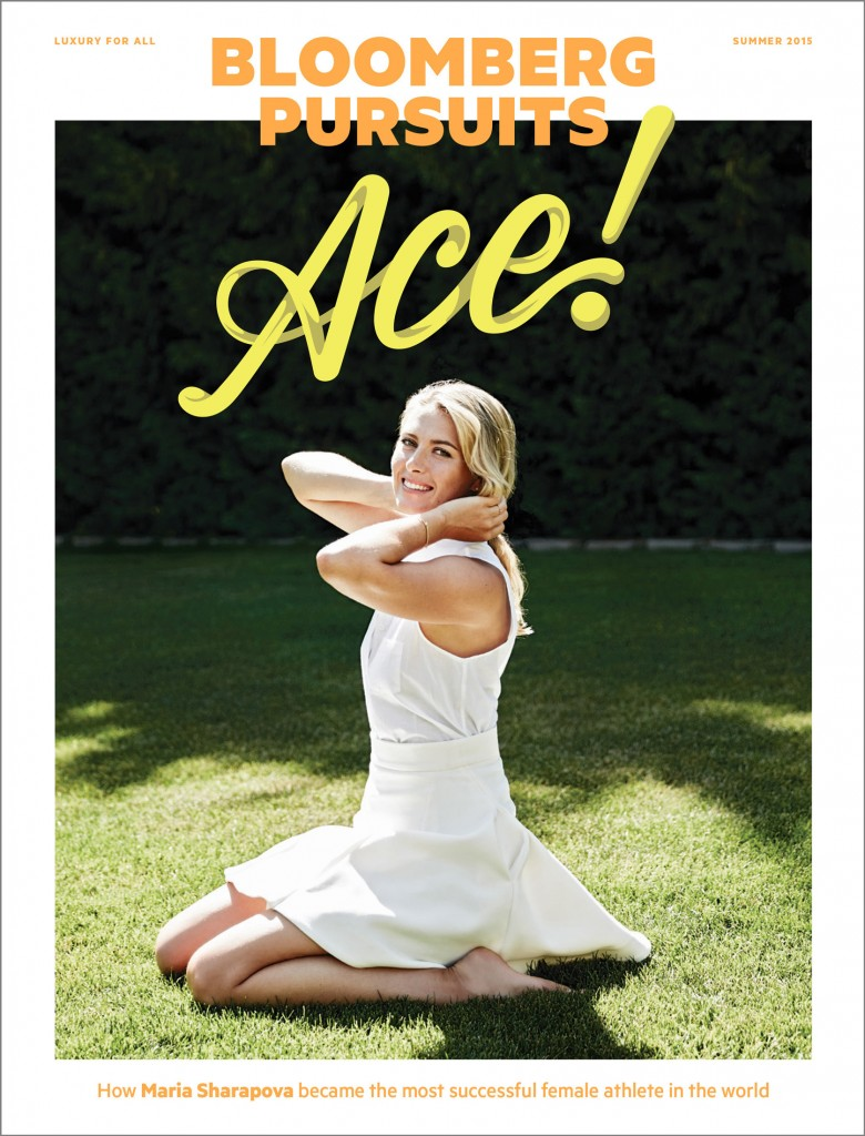Maria Sharapova Bloomberg Pursuits MC MosnarCommunications Luxury PR Media