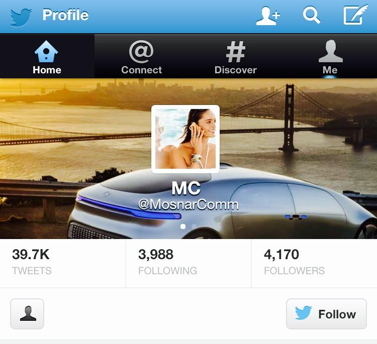 MosnarCommunications Twitter Profile Luxury PR Media #Luxury
