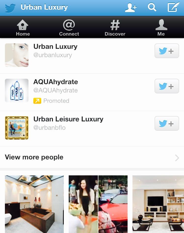 Most Influential Urban Luxury Accounts On Twitter MosnarCommunications #Luxury #LuxuryMarketing