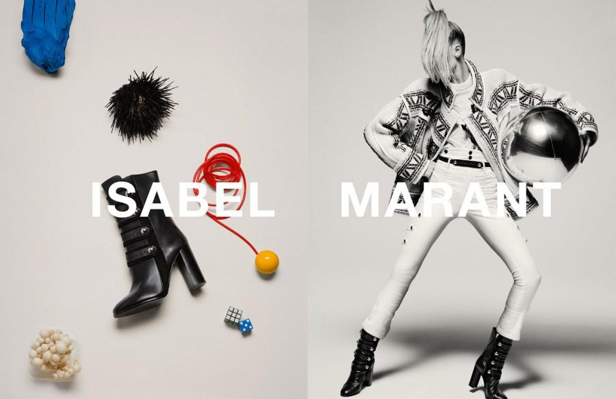 Isabel Marant Fashion Fall Winter Campaigns 2015 Luxury Brand Ambassadors MosnarCommunications