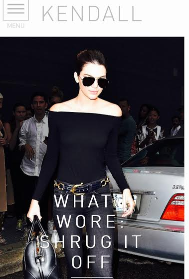 Kendall Jenner Online Website MosnarCommunications