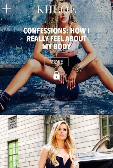 Khloe Kardashian Online Website MosnarCommunications