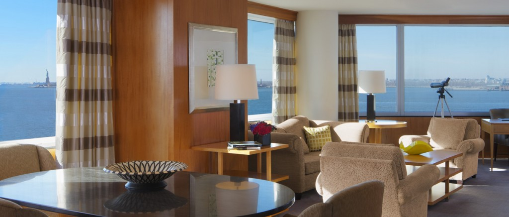 The Ritz-Carlton New York Battery Park's Premiere Liberty View Suite MosnarCommunications
