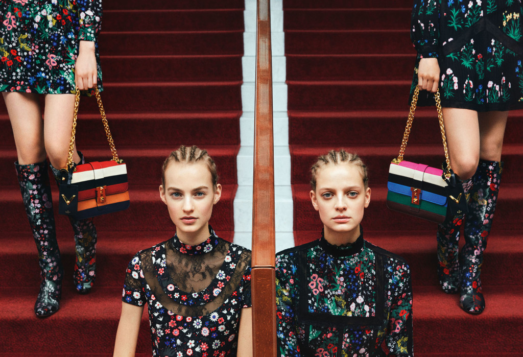 Valentino Luxury Brand Campaign MosnarCommunications Top Headline