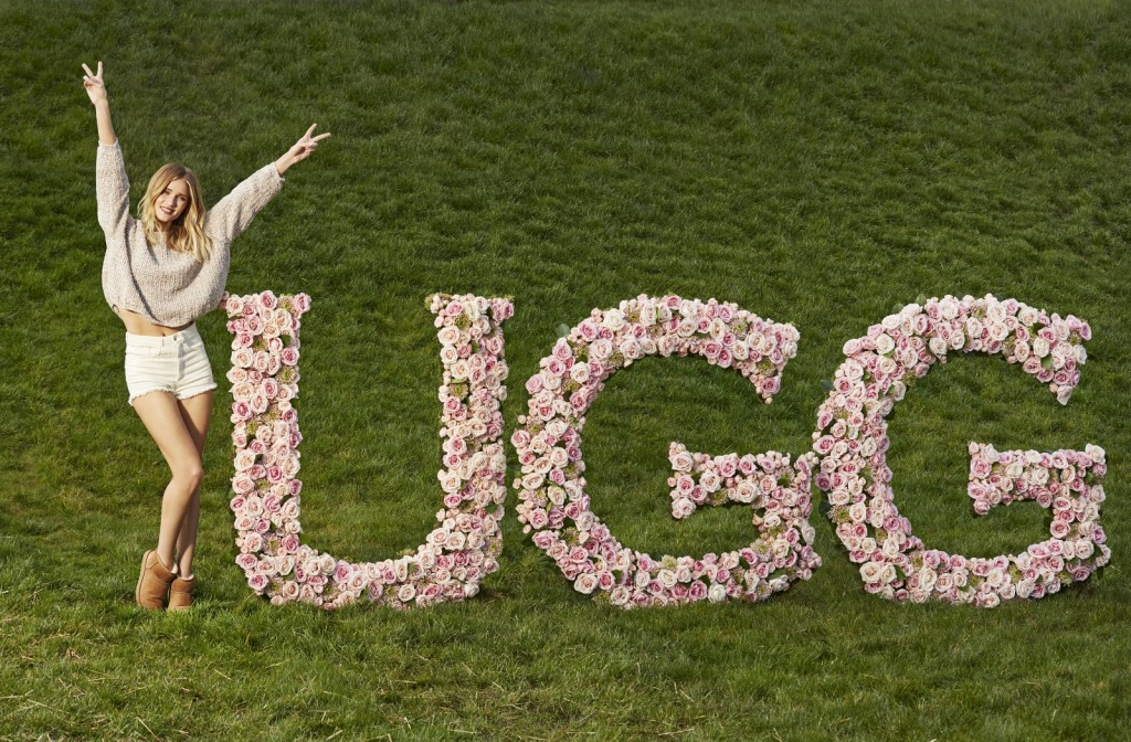 Rosie Huntington-Whiteley New UGG Face Mosnar Communications