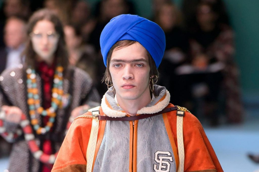 Gucci Models turbans Mosnar Communications