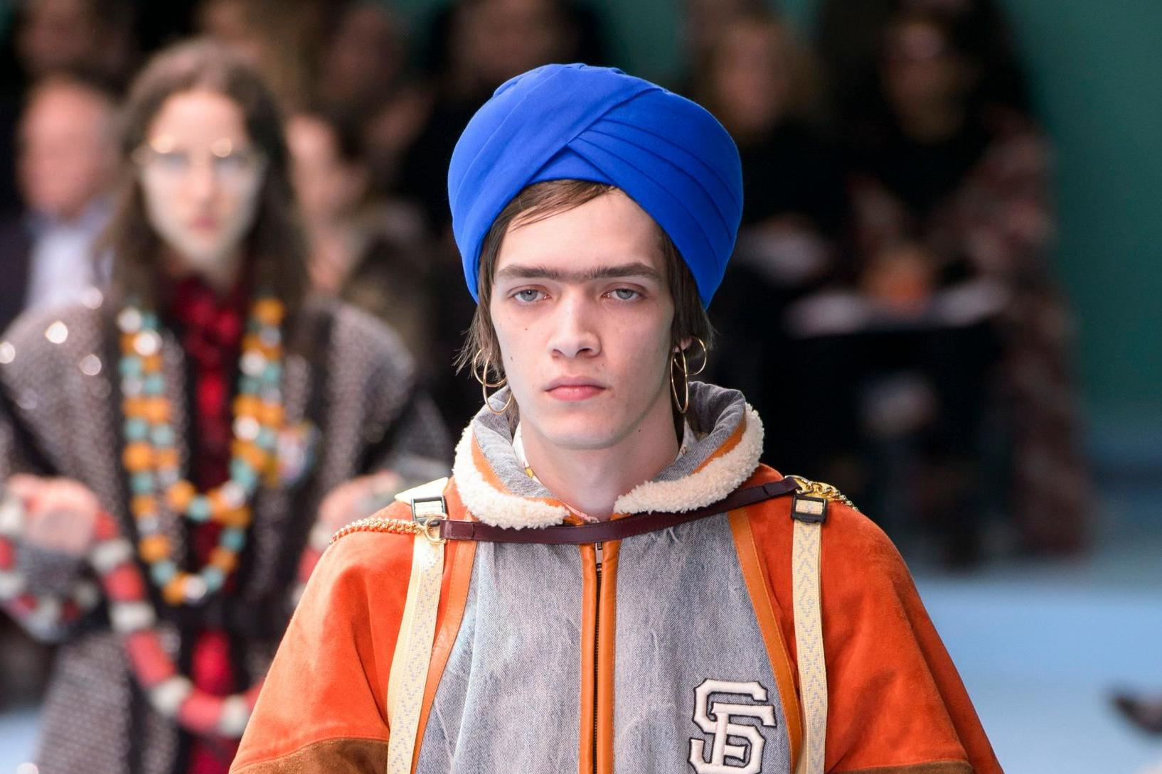 Gucci Models turbans Mosnar Communications