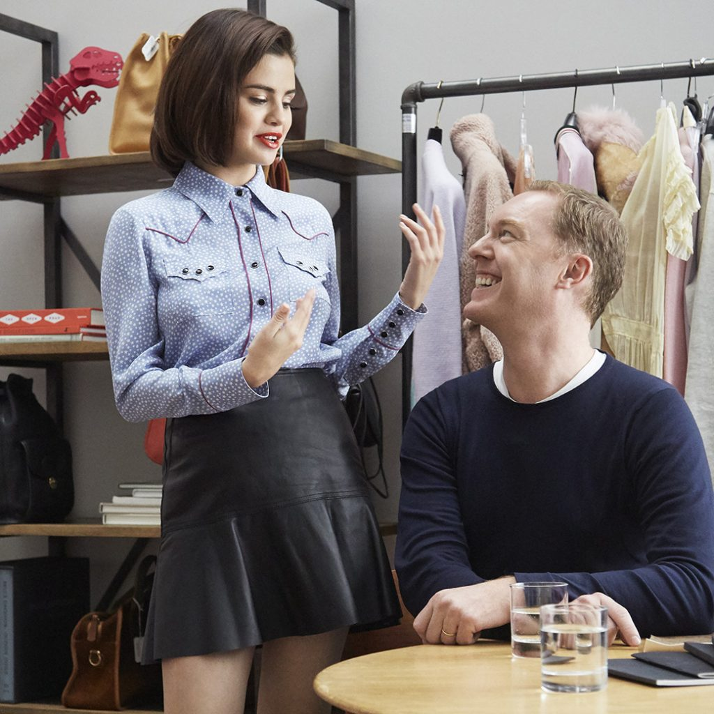 Coach x Selena Gomez Mosnar Communications