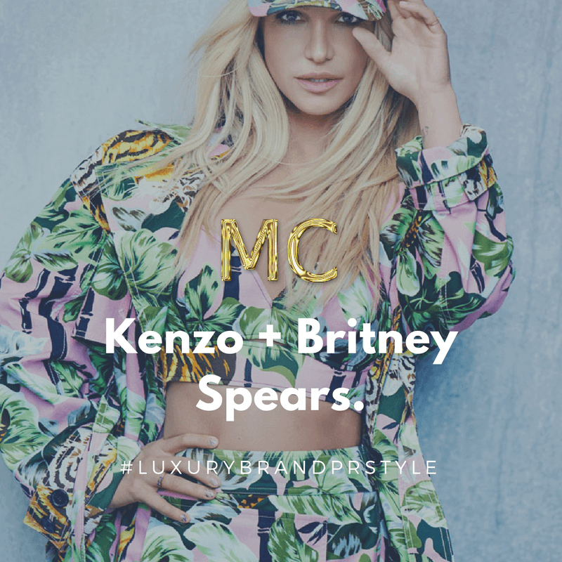 Kenzo + Britney Spears MosnarCommunications