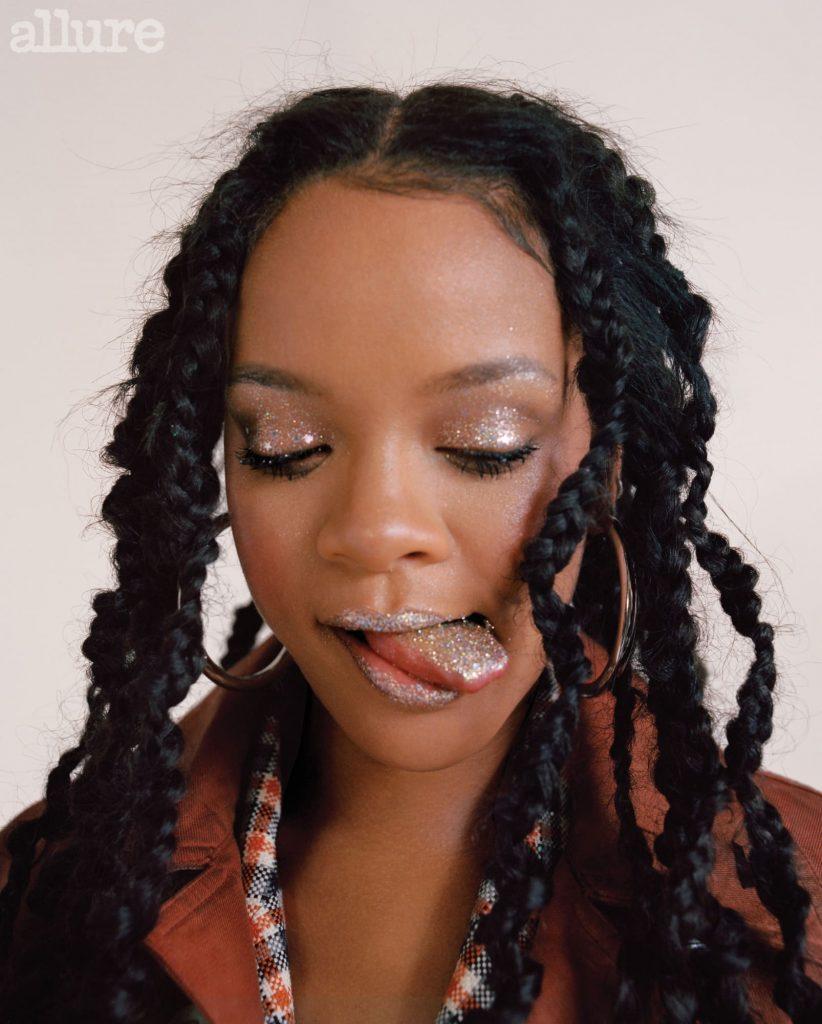 Rihanna's Breakthrough Award From Allure Mosnar Communications 2