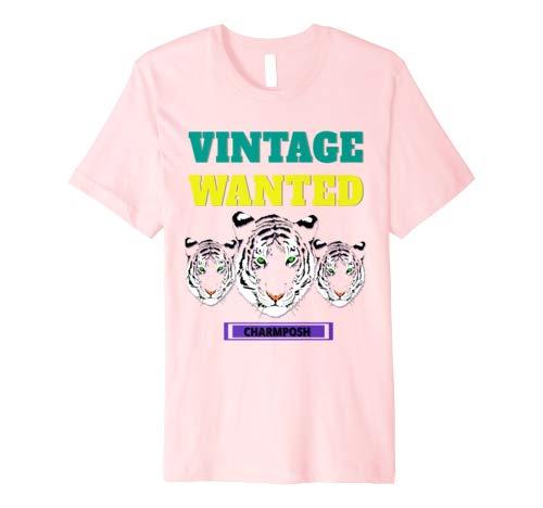 Vintage Wanted Designer T-Shirt Brand Logo 5 CharmPosh Mosnar Communications