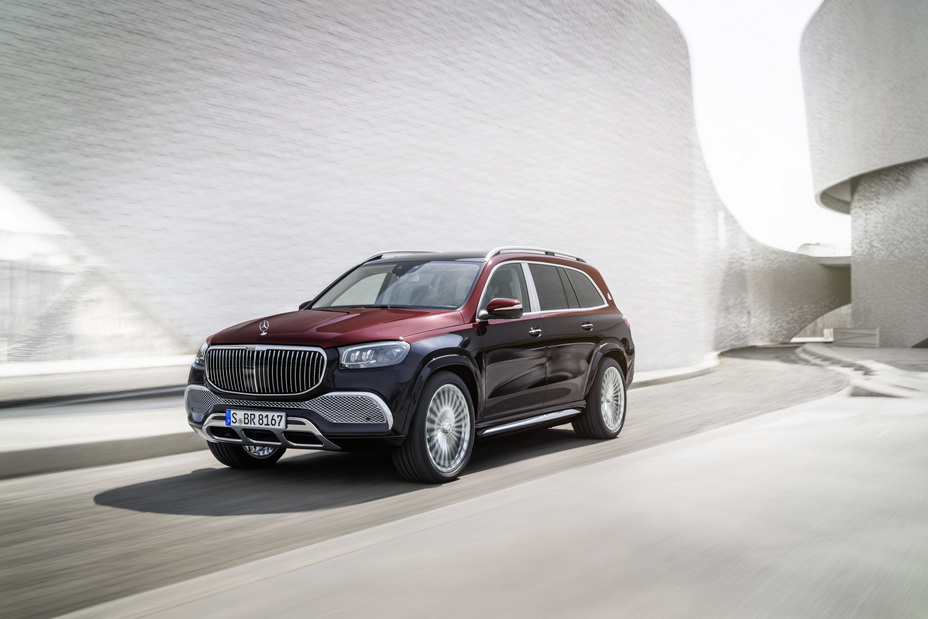 Maybach SUV From Mercedes-Benz USA Mosnar Communications